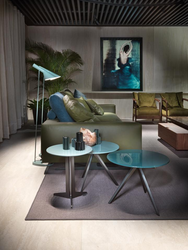 Flexform Salone del Mobile - Green Palette