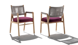 Outdoor Chairs by Flexform