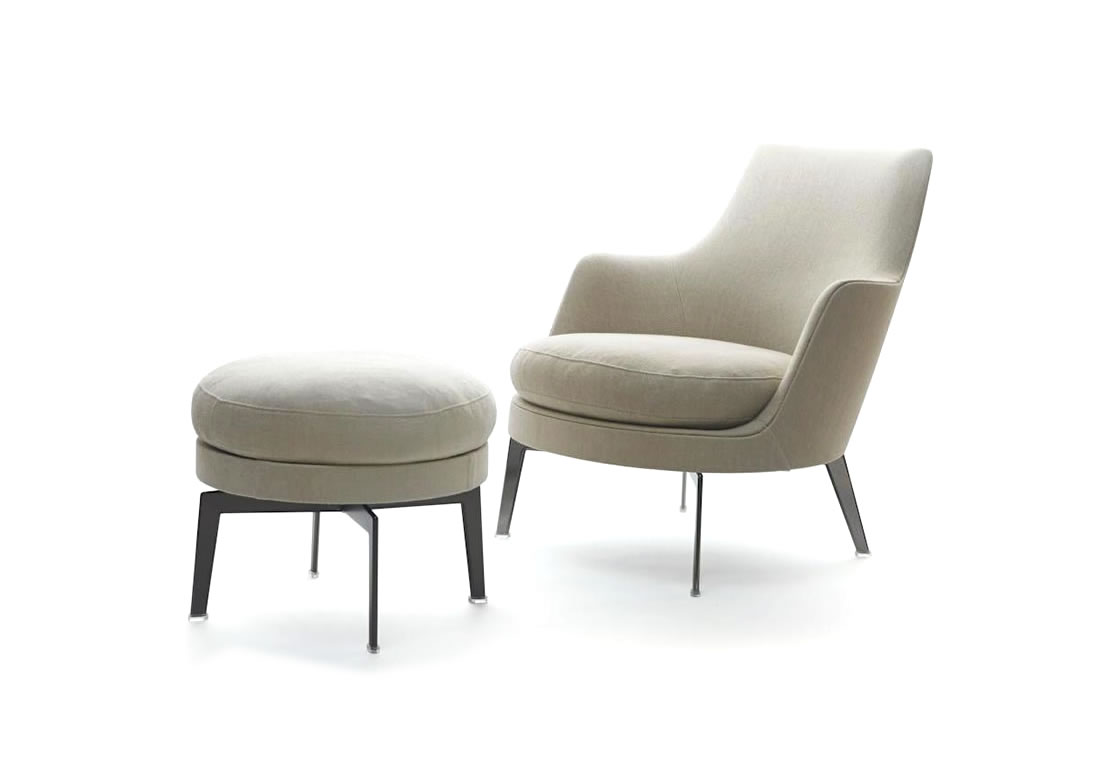 Poltrone Flexform, Chaise longue e pouf Flexform